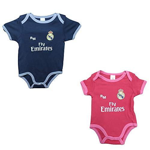 Real Madrid FC Real Madrid FC Baby Jungen (0-24 Monate) Set Schwarz, Schwarz 92