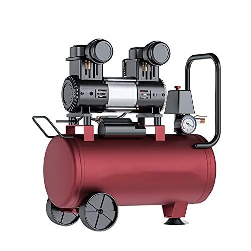 WUK Compresor de Aire sin Aceite 1000/1300 W Compresor de Aire silencioso portátil (40dB) 30L Pintura en Aerosol Odontología 220V Bomba de Aire Taller Herramientas neumáticas