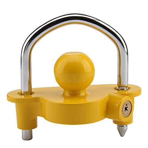 Toolzone Kit de seguridad de enganche de bola de seguridad para caravanas y remolques AU050
