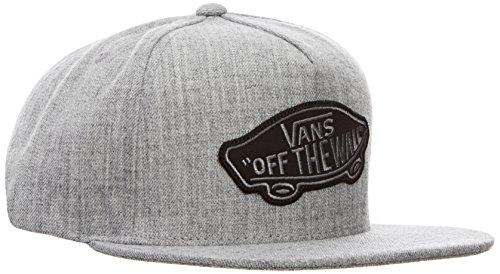 Vans CLASSIC PATCH SNAPBACK - Gorra de béisbol para hombre, color gris (heather grey), talla única