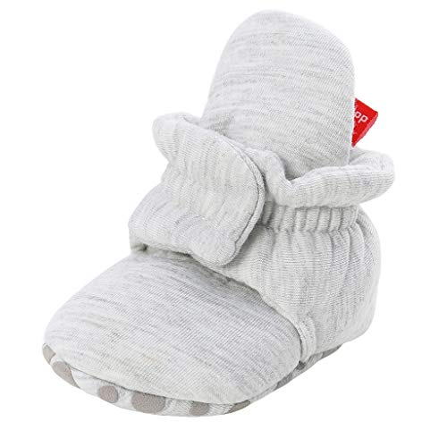 Snakell Baby Jungen Lauflernschuhe,Unisex-Baby Neugeborenes Fleece Booties Bio Baumwoll-Futter und rutschfeste Greifer Winterschuhe,Unisex Baby Shoes Krabbel- & Hausschuhe
