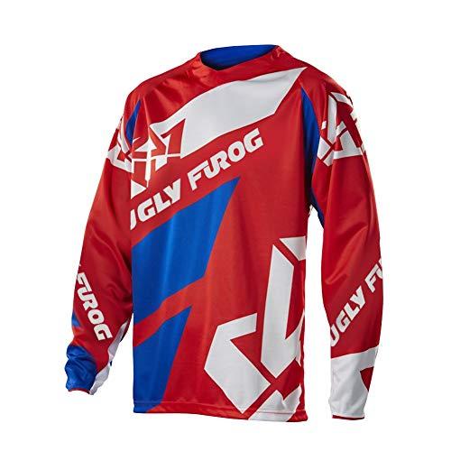 Uglyfrog Racewear Long Sleeve Downhill Jersey DH/AM/XC/FR/MTB/BMX/Moto/Enduro/Offroad Cycling Mountain Bike