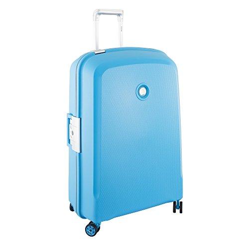 DELSEY Paris Belfort Plus Maleta, 76 cm, 112 Liters, Azul (Bleu Vert)