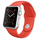 APPLE(アップル) Apple Watch Sport アルミニウム シルバー 38mm オレンジスポーツバンド