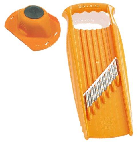 Bernese BORNER PL thick cut potato waffle slicer XXL + safety holder set Orange 5O52050saf Alabama