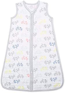 Aden and Anais 1 Tog Leader of The Pack Cycles Classic Muslin Sleeping Bag, Multicolour, X-Large