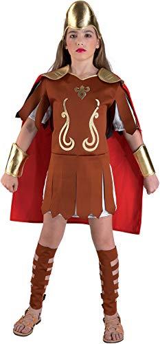 PRESTIGE & DELUXE Costume Vestito Carnevale  AMAZZONE Principessa GUERRIERA  Taglia 7 8 Anni
