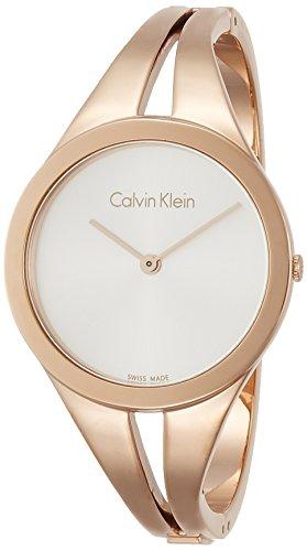 Calvin Klein Reloj Analogico para Mujer de Cuarzo con Correa en Acero Inoxidable K7W2S616
