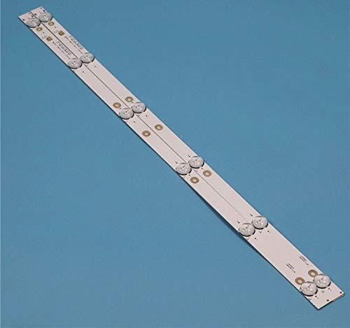 WLS TVs LED Backlight Strips for ARIELLI LED-32DN6T2 LED TV Bars MS-L1343...