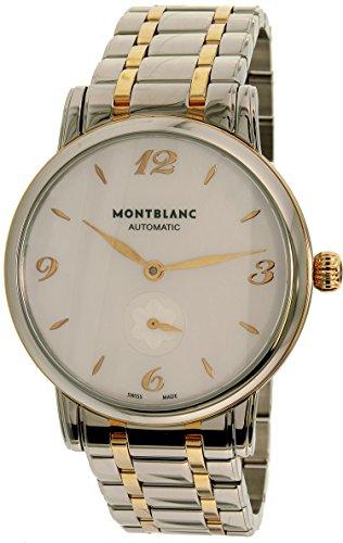 Montblanc Star Classique 107915 Reloj de Moda automático Suizo de Oro Plateado para Mujer