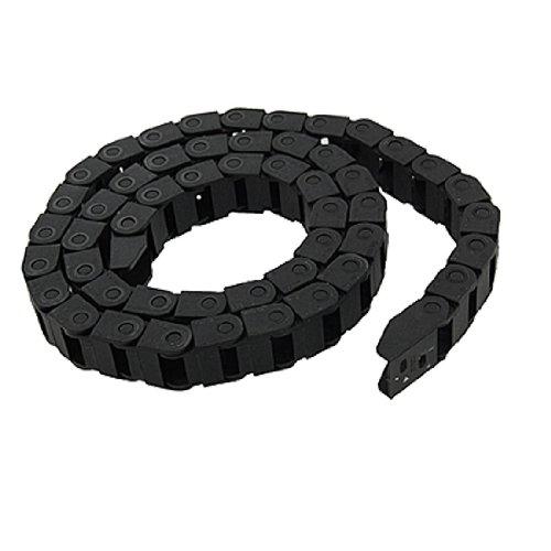 Andifany R Schwarzer Kunststoff Schleppkettenleitung Traeger 10 x 15 mm Fuer CNC Fraeser Muehle