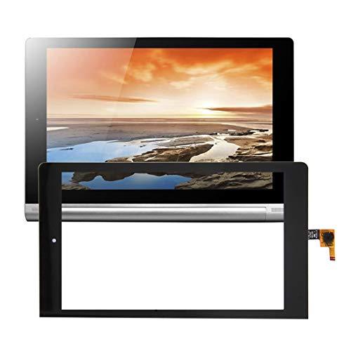 Zhouzl Lenovo Repuesto Asamblea del digitizador de la Pantalla táctil de Lenovo Yoga Tablet 8 / B6000 Lenovo Repuesto (Color : Black)