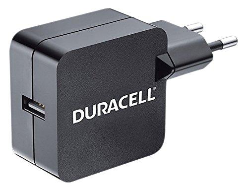 Duracell DRACUSB2-EU - Cargador USB para tablet y smartphones, 2.4A)