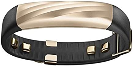 Jawbone UP3 JL04-6003ABD-US Activity Tracker Band with Heart Rate Monitoring, Sleep Tracking and Smart Coach System (Black Gold Twist) OPEN BOX