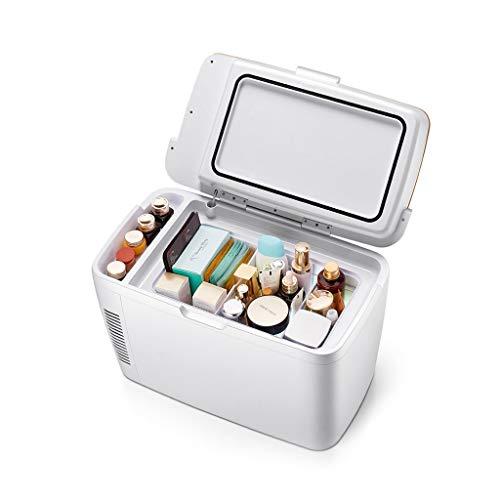 Mini-koelkast, mini-koelkast, elektrische smart machine-verwarming (4 liter/6 blikjes), AC DC, draagbaar, geschikt voor reizen, kantoor en slaap