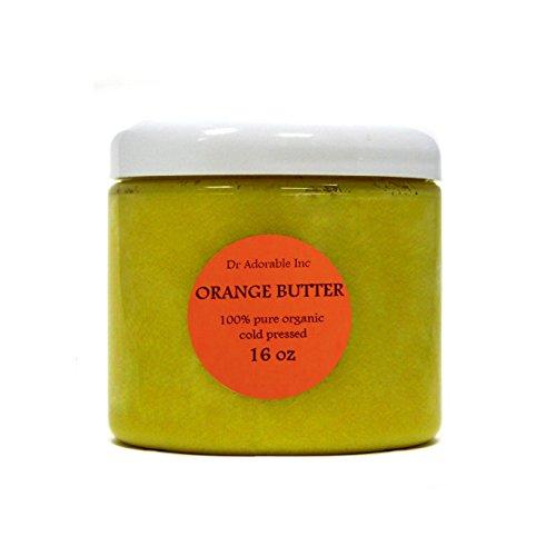 Orange Butter Organic 100% Pure 16 Oz