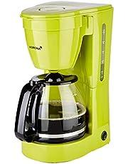 Korona 10118 Koffiezetapparaat | Filterkoffiezetapparaat voor 12 koppen koffie | Glazen Kan | Groen | 800 Watt
