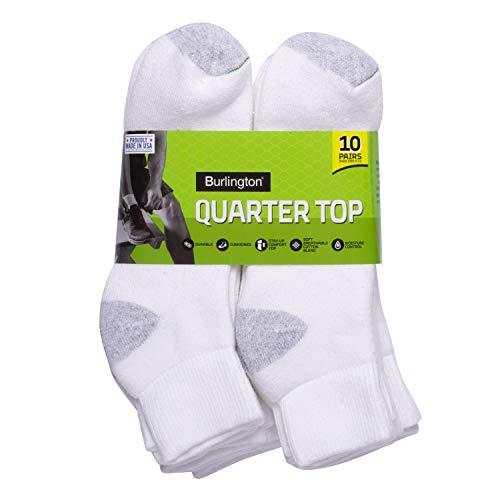 Burlington Comfort Power Men's Quarter Sock