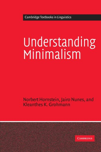 Understanding Minimalism (Cambridge Textbooks in Linguistics)の詳細を見る
