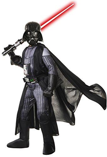 Rubie's Star Wars Kostüm, Kinder Premium Sith Lord Darth Vader-Outfit, klein, Alter 3–4Jahre, Höhe 7,6cm 20,3cm–4'0cm