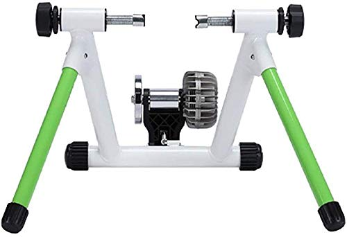 Fietstrainer 3D-vloeistofweerstandstraining Game Paardrijden Platform voor indooroefening (kleur: wit Maat: One Size)(Upgrade)
