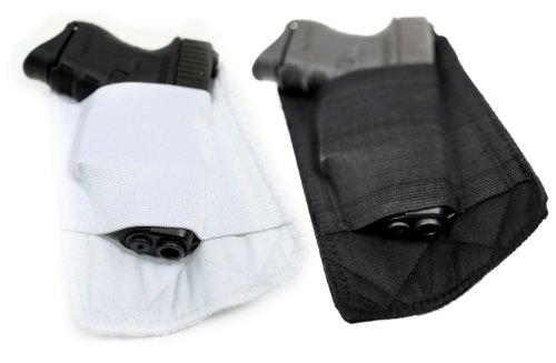 Packin' Tee Holster Gun Pouch, White, Large, Right Hand