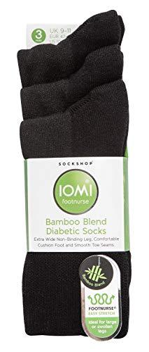 buy  IOMI – Extra Wide Non Binding Bamboo ... Diabetes Care