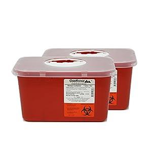 buy  Oakridge Sharps Container – 1 Gallon (2 ... Diabetes Care