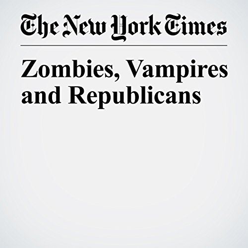 Zombies, Vampires and Republicans copertina