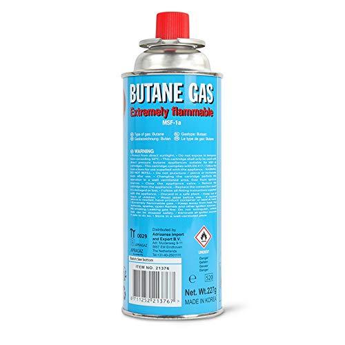 battery® Cartouche de gaz butane 220 g pour réchaud de camping Cartouche et des barbecues