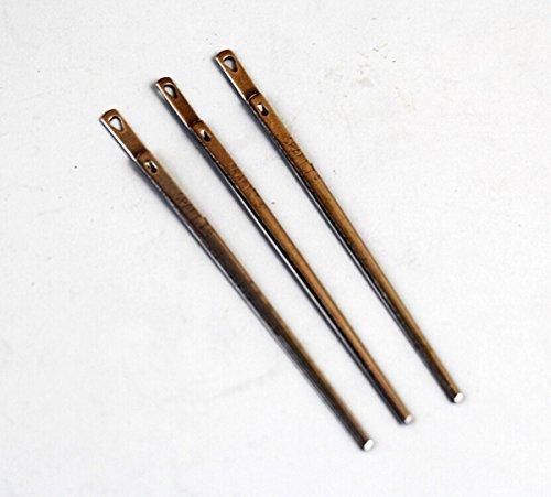 WellieSTR 3 Pieces Pack Leather Lacing Threading Needle LeatherCraft Tool / Handmade / DIY
