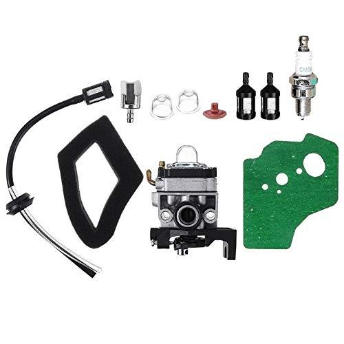 QIUXIANG Carburador Carb Junta Bujía línea de Combustible Manguera Fit Kit for Honda GX25 GX35 GX 25 35 HHT35 HHT35S FG110 Trimmer Cortadoras de Motor (Color : Gray)