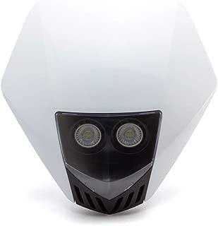 Motorcycle Stealth Headlight Brackets In Black 50-53mm Streetfighter Custom Bike