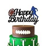 Football Cake Topper - Happy Birthday Cake...