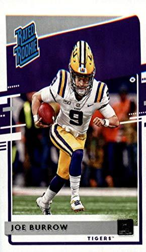 2020 Panini Chronicles Draft Picks Donruss Rated Rookies #1 Joe Burrow RC Rookie LSU Tigers Football Trading Card