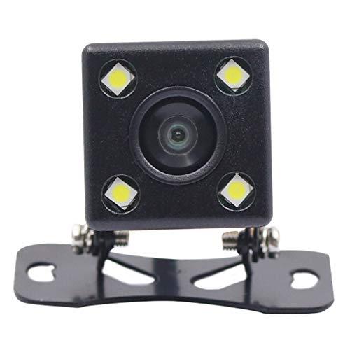 MagiDeal Estacionamiento HD 170 Deg de La Cámara de Respaldo del Revés - 4 LED