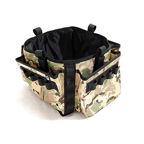 YETI(イエティ)にも使えます! 5ガロンバケツ専用ベルト ギアベルト バケツ おしゃれ カバー ポケット アウトドア 釣り キャンプ アクセサリ バッグ 丈夫 座れる ユーティリティ Makalu(マカルー)