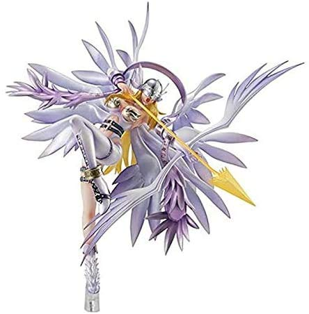 ZXLLY Anime Cartoon Statue Neue Digimon Figur Angewomon Kids Mini Action Figures Model Toys, Home Office, Gift Collection Statue