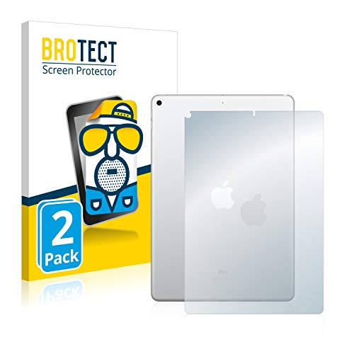 BROTECT Protector Pantalla Anti-Reflejos Compatible con Apple iPad Air 2019 (Trasero) (2 Unidades) Pelicula Mate Anti-Huellas