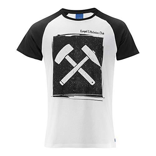 FC Schalke 04 Kumpel & Malocher T-Shirt (S, weiß)