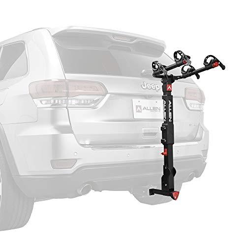 Allen Sports Premier Locking Quick Release 2-Bike Carrier for 2 in. & 1 4 in. Hitch, Model QR525