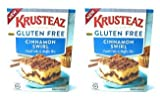 All the delicious Krusteaz taste without the gluten The perfect compliment to coffee or breakfast Easy to prepare as squares or muffins Crumb topping is sweet and buttery, featuring the taste of cinnamon and brown sugar Customize with 1/4 cup dry ing...