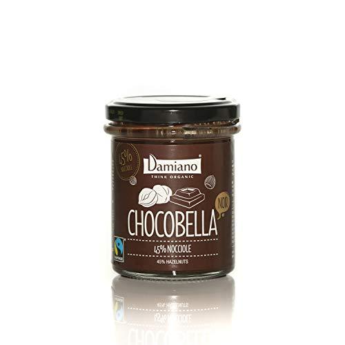Pâte à tartiner Biologique de Cacao et Noisettes NOIR, Sans Gluten, Sans Lait et Végétalien - Pot de 200g
