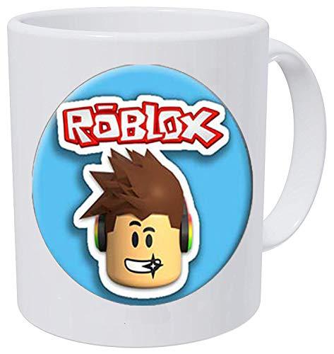 Pop Game Roblox Lange Halskette Anime Boy Figur Gesicht & R Logo Glas Foto Cabochon Spielzeug Anhänger Kaffeetasse