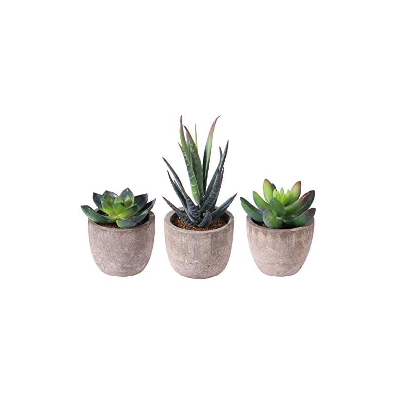 silk flower arrangements pretyzoom feaux succulent plants with pots artificial flower cactus fake succulent plants lotus landscape decorations 3pcs