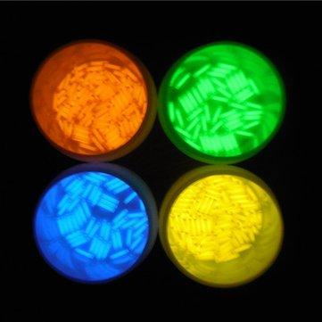 1pcs 1.5x6mm Trit Vials Tritium Multicolor Self-luminous 15-Years - Flashlight Tritium Gadgets - (Green) - 1 x 1.5x6mm Trit Vials