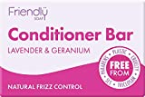Friendly Soap Natural Lavender and Geranium Conditioner Bar 95g