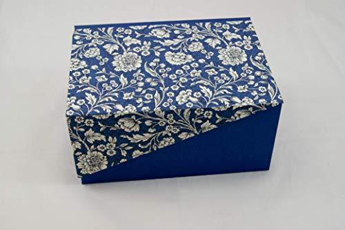 A5 Kästchen mit Zierecke, Geschenkverpackung, Schachtel, Schatulle, Kiste, Box, Kasten