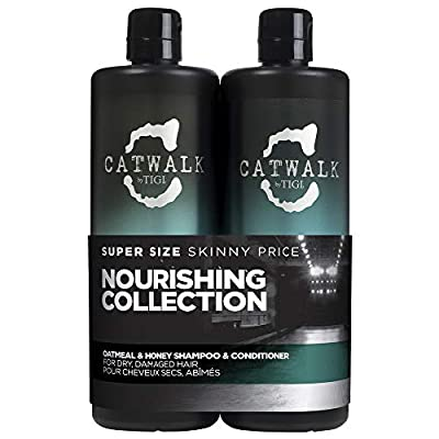TIGI Catwalk Oatmeal & Honey Shampoo and Conditioner Tween Duo 2 x 750ml