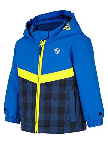 Ziener Kinder AMAI Mini (Jacket ski) Baby Skijacke/Winterjacke | Wasserdicht, Winddicht, Warm, True Blue, 98